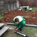 Установка частного водоснабжения